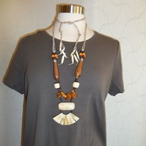 Jewelry - Amazing Vintage Bone Necklace